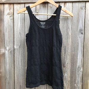 Mossimo lace knit tank top
